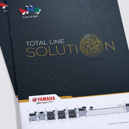Yamaha Brochure Design