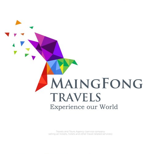 Logo concept for MaingFong Travels