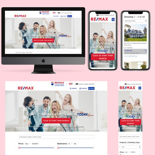 Landing Page For Real Estate Agent