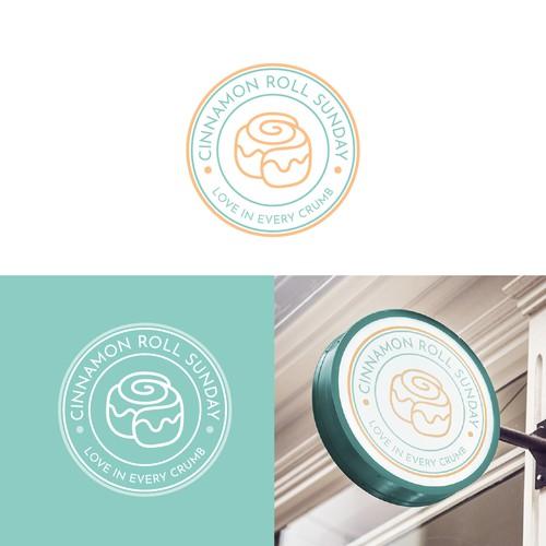 CINNAMON ROLL SUNDAY Logo