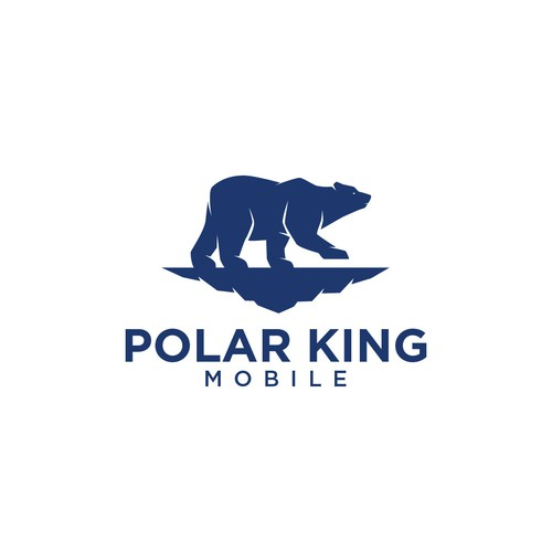Logo concept for Polar King Mobile