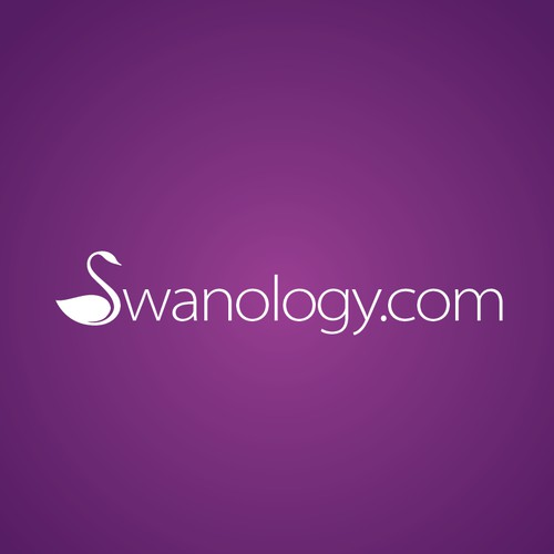 Swanology.com: Seeking Heartwarming, Love-Inspiring Logo