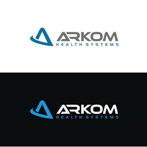 Create a logo for Arkom Health Systems