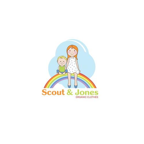 Logo design for Scout&Jones.
