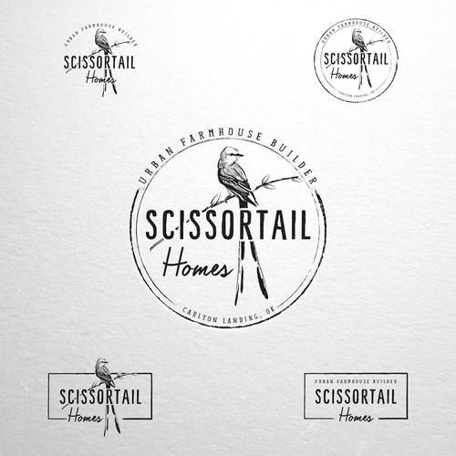 Scissortail logo design