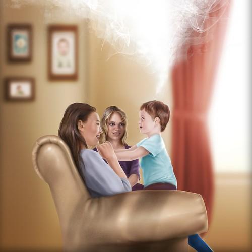 family illustration for bebuhgames