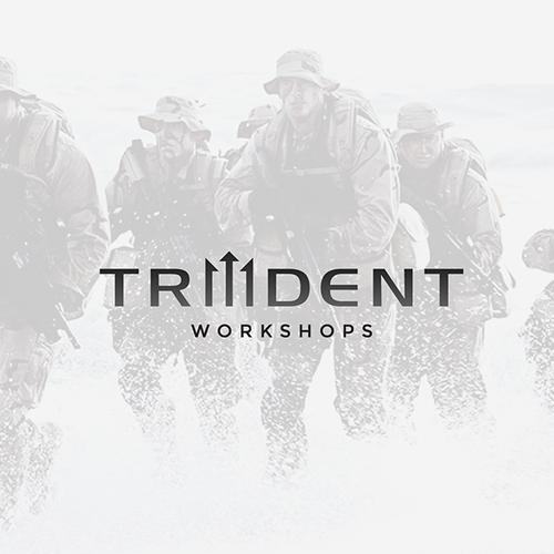 Bold logo for Trident Workshops