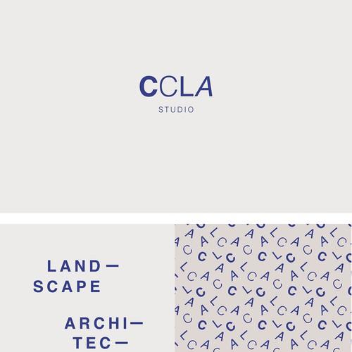 Studio CCLA Architecture studio brand identity