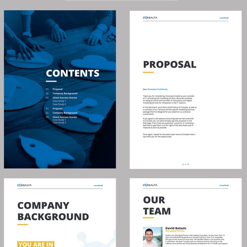 Price Proposal - MS Word template
