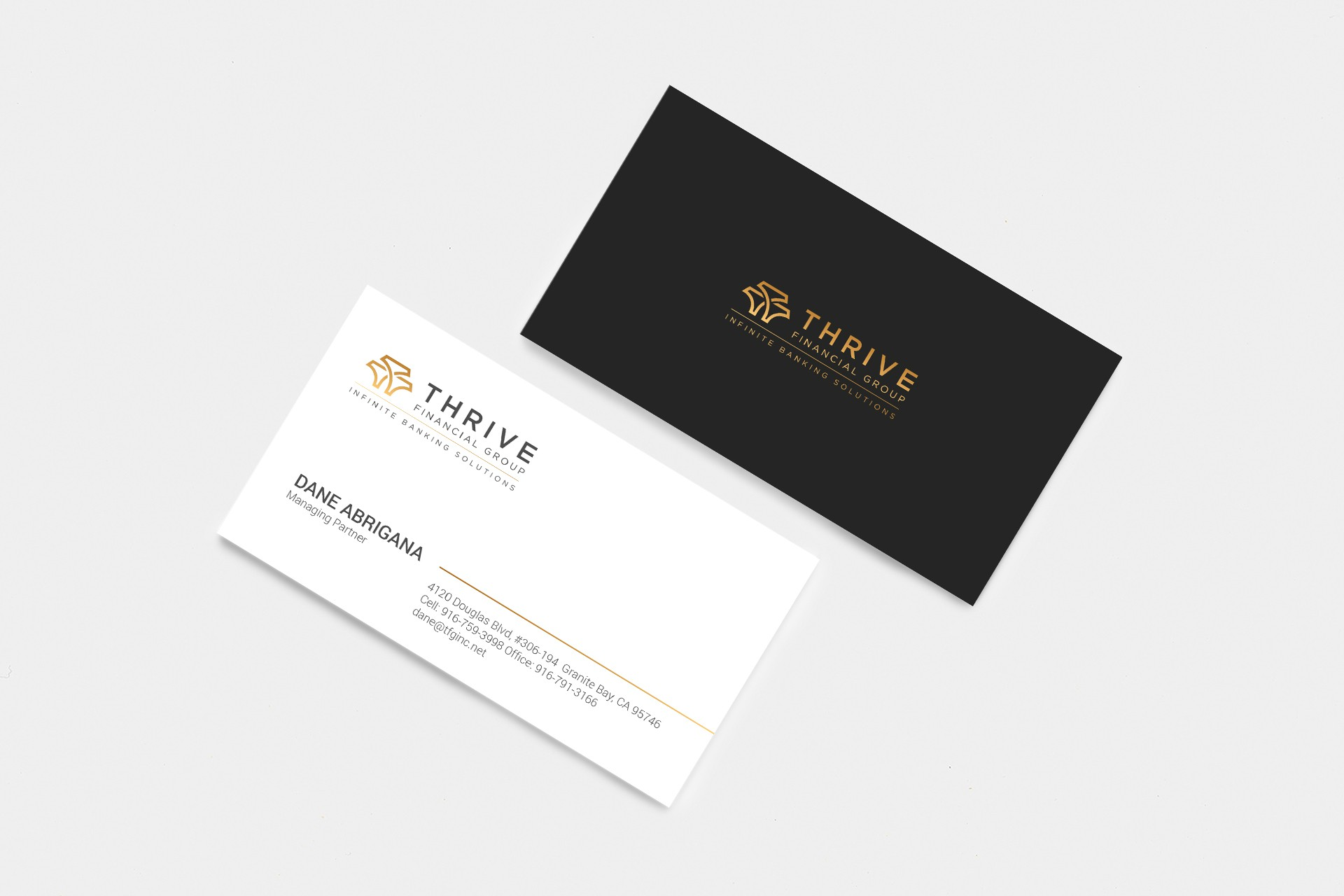 Thrive Financial Group Business Card