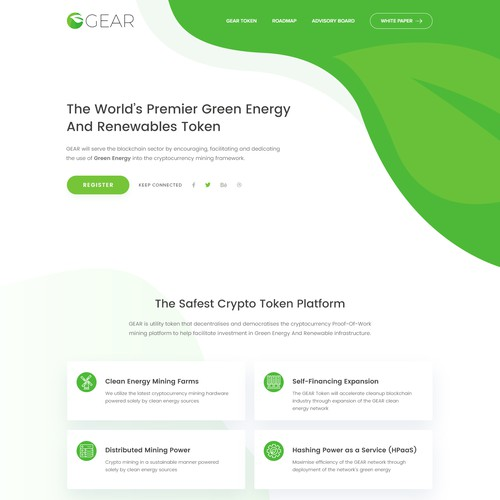 Green Energy Crypto Platform