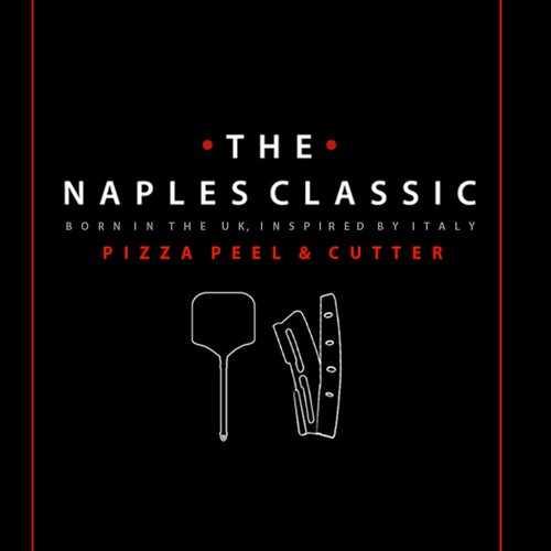 Bold label for Naples Classic pizza tools