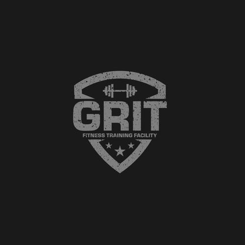 Fitness training facility catchy logo