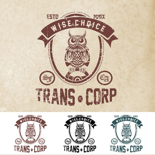 Logo concept for Trans.Corp