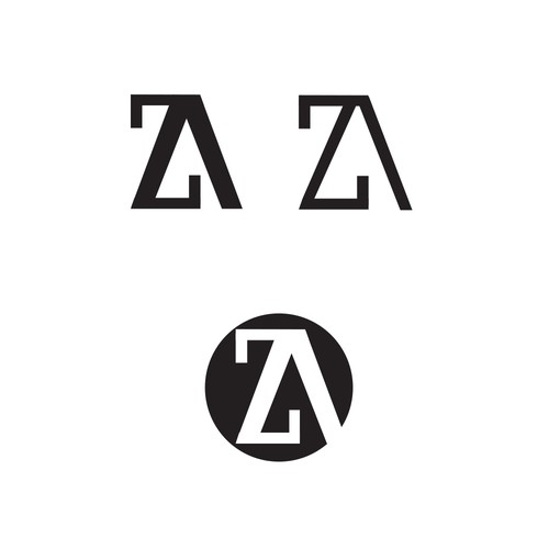 Simple letterform logo