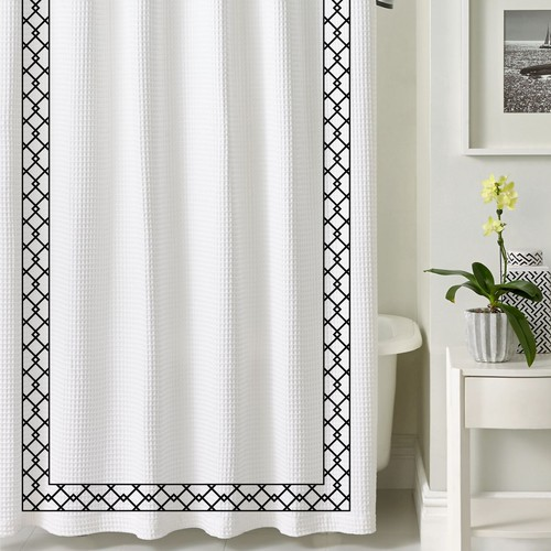 Elegant simple design for shower curtain