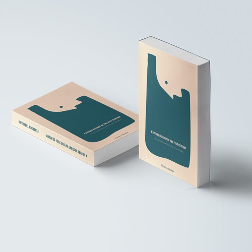 Negative space book cover