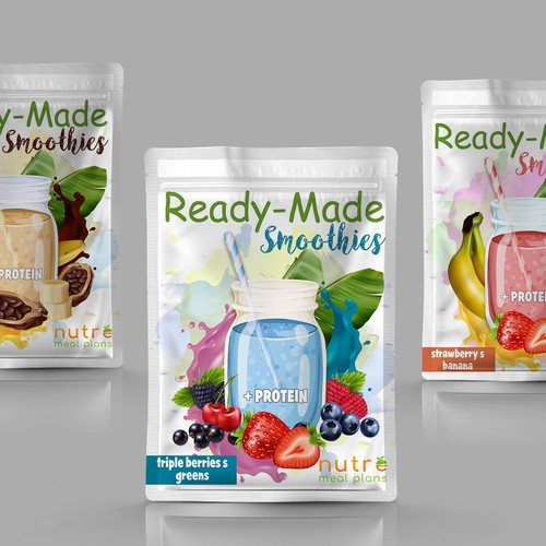 5 days ago Nutre Ready Made Smoothies Packaging