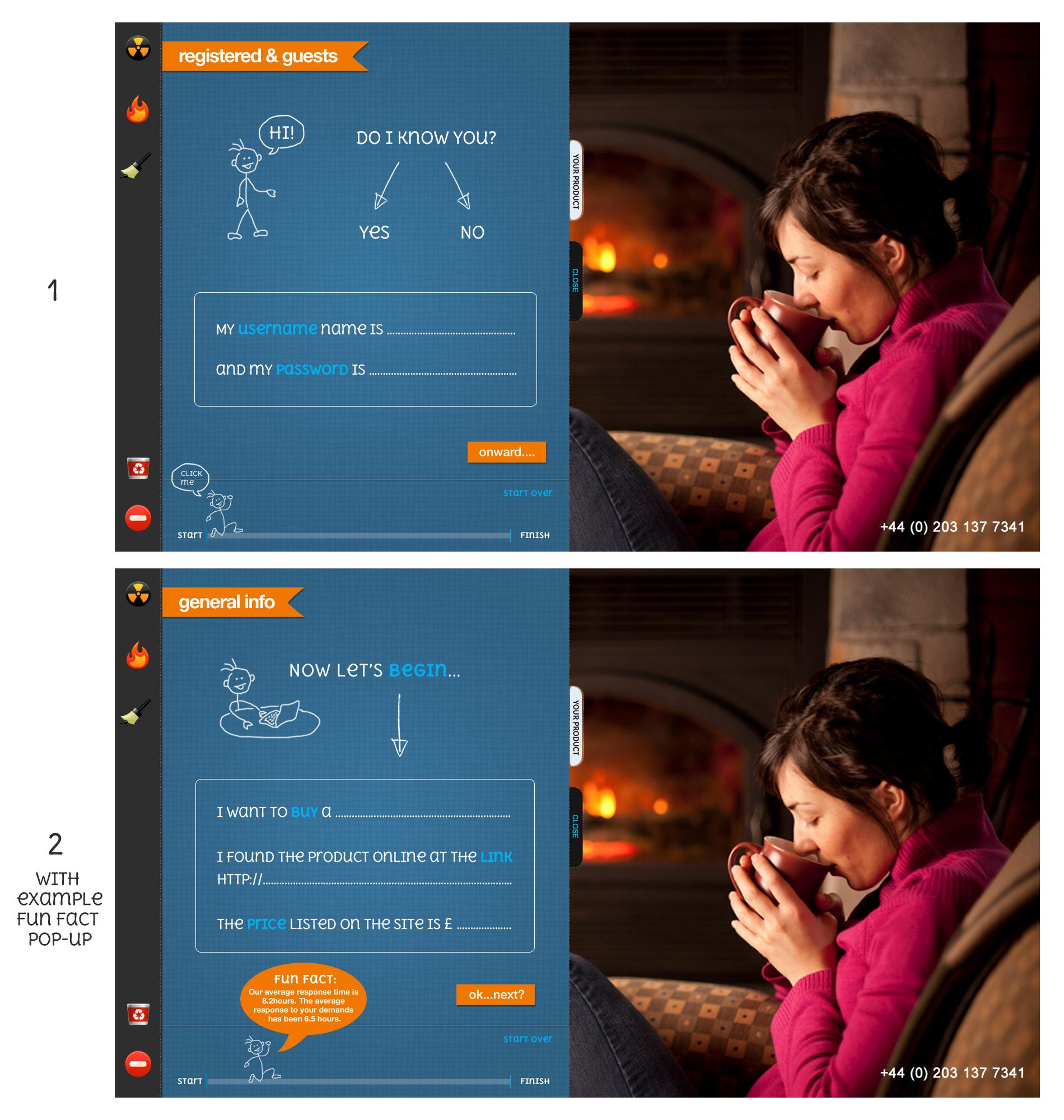 Webform design needed for Amastude
