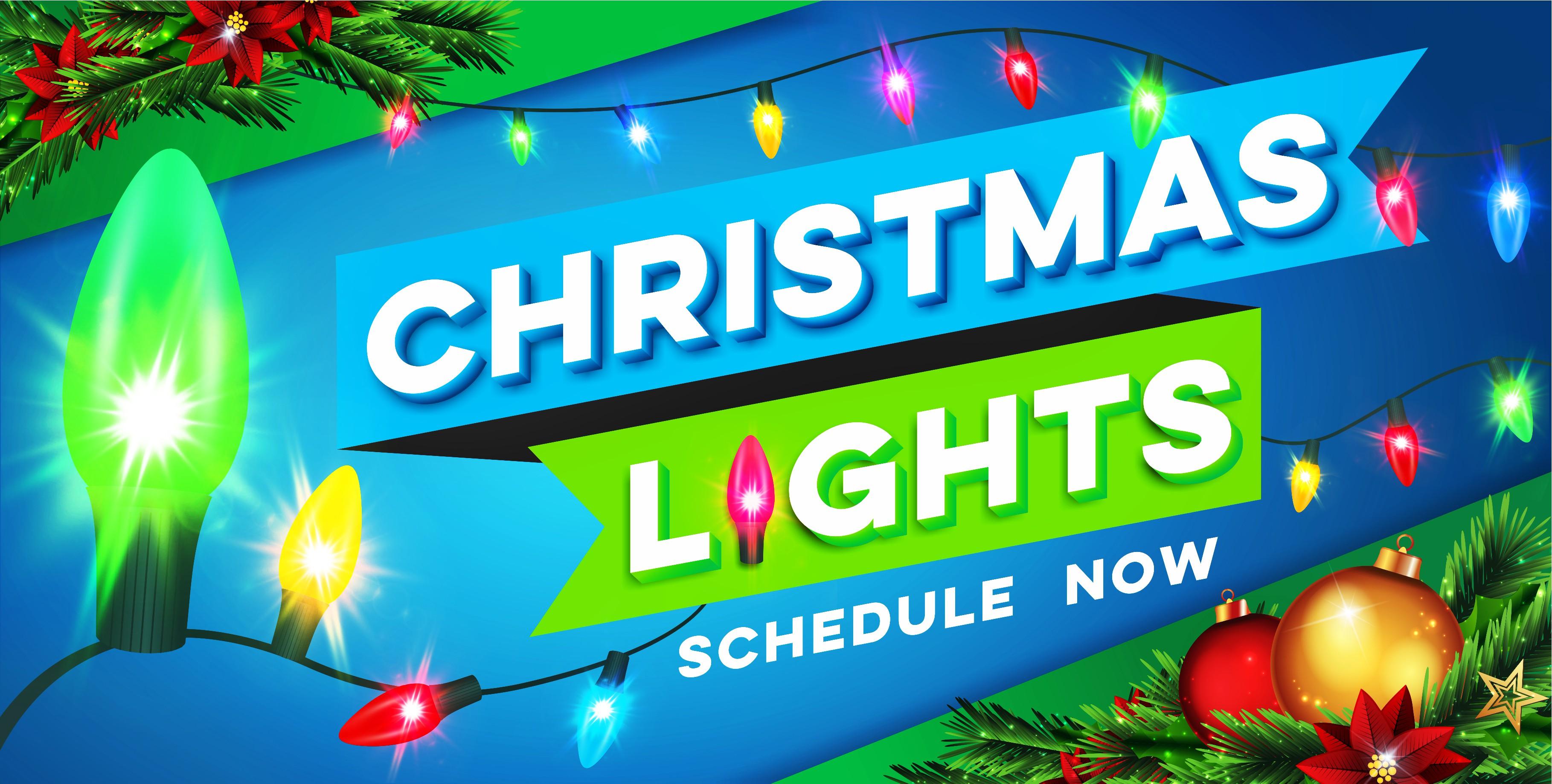 Chorbie Christmas Lights Door Ad 2019