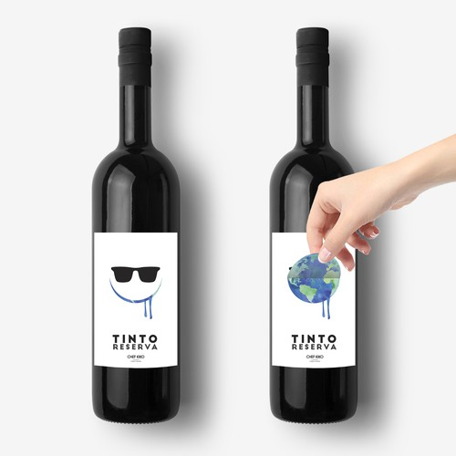 Concept Label Design for Tinto Reserva