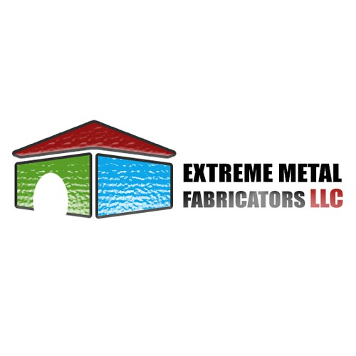 create a height of perfection logo for a metal roof manufacturer