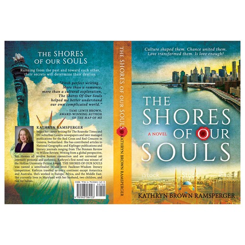 """Book cover for: """"The Shores of Our Souls"""""""