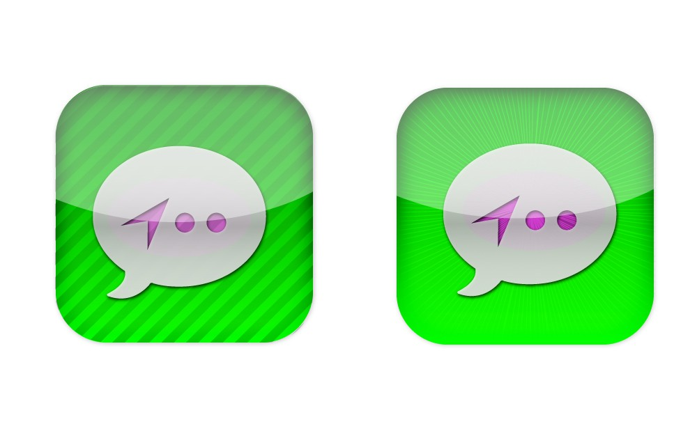 Create the next icon or button design for Holla