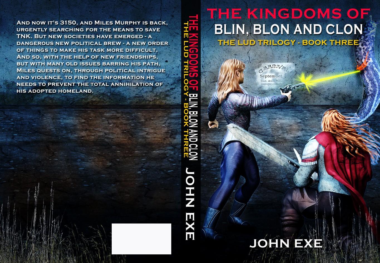 John Exe needs a new book or magazine cover