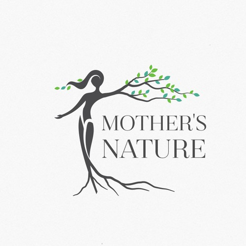 Mother nature logo.