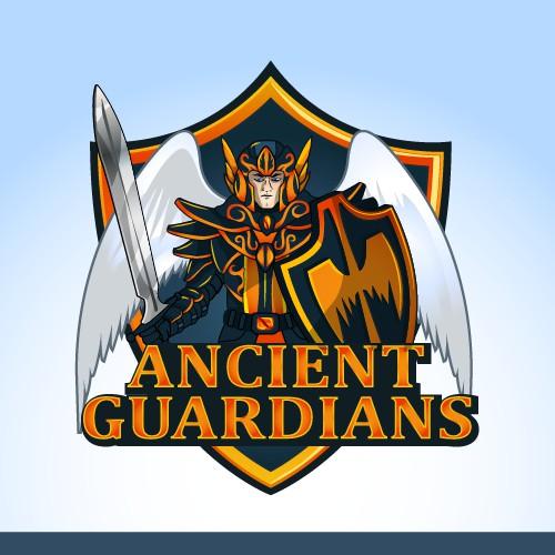 Ancient Guardians logo sketch