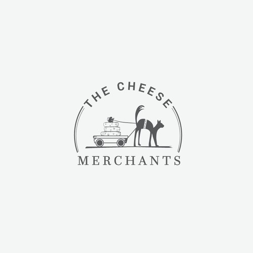 Cheese trade company logo