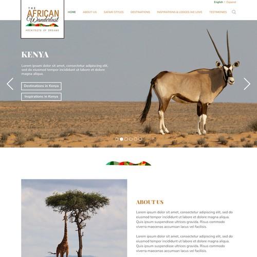 Design for an African Safari Company