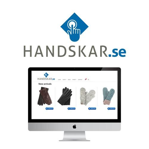 Logo for online glove retailer