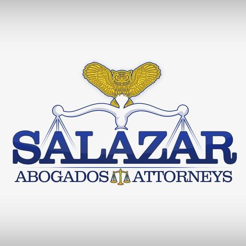 Create the next logo for Salazar   abogados / attorneys