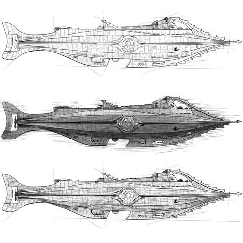 The Nautilus Sketch