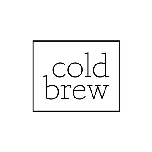 Cold Brew Coffee Logo
