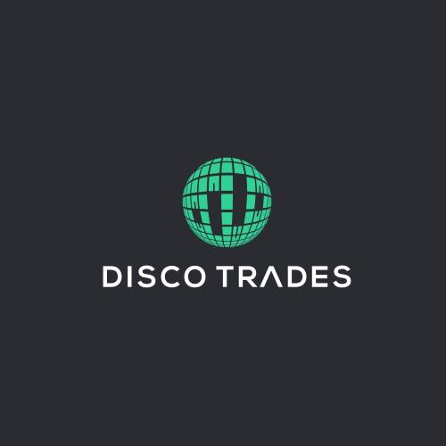 trendy logo for stock market trading app