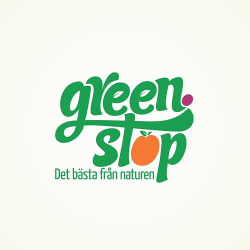 Logo design organic brand