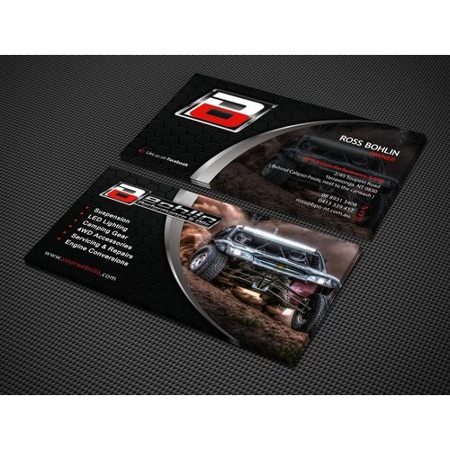 BPO Business Card