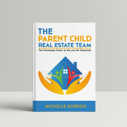 Design the book cover for the next go to read for Real Estate