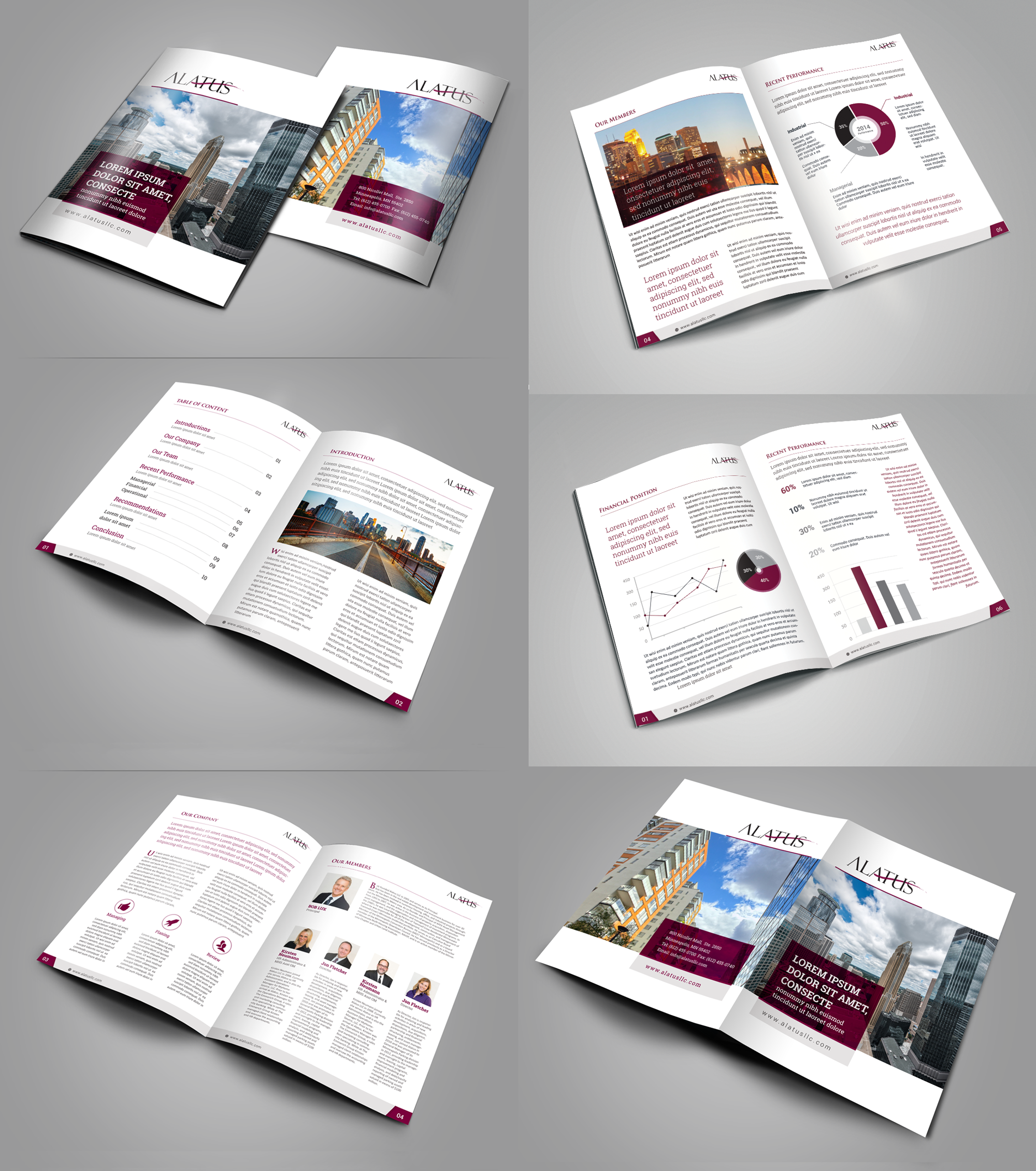 Design a modern, clean, professional COLLATERAL PACKAGE for real estate development company