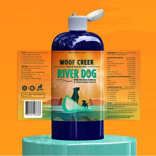 River Dog label
