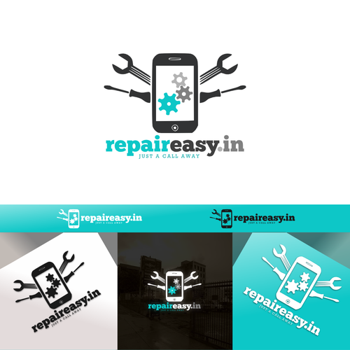 Logo for mobile repair site