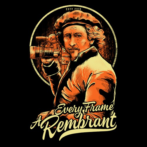 Every Frame A Rembrant Tshirt