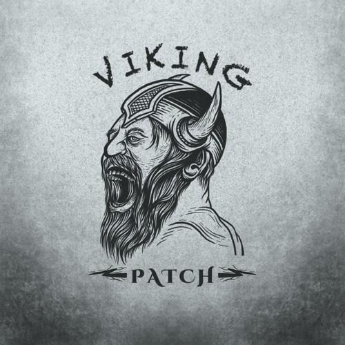 Viking patch label designs