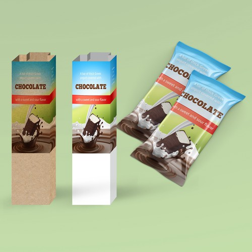 Packaging for Milky