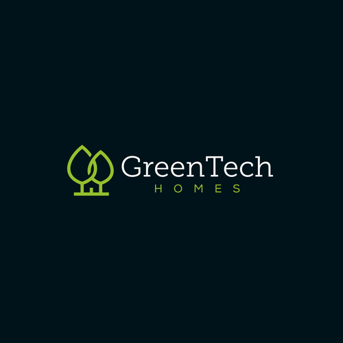 Iconic logo for GreenTech Home