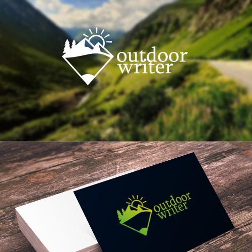 Logo concept for Outdor Writer