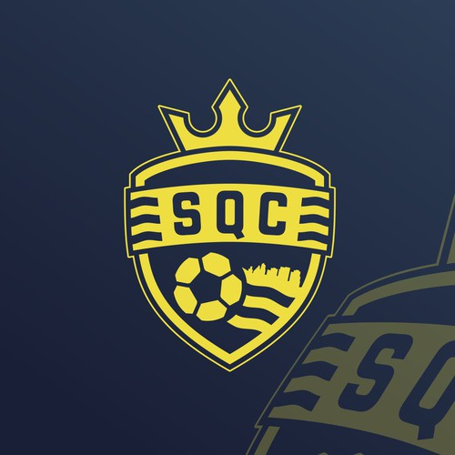 Sporting Queen City - Soccer Club Logo/Badge